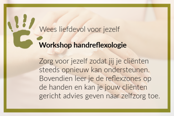 School - workshop handreflexologie