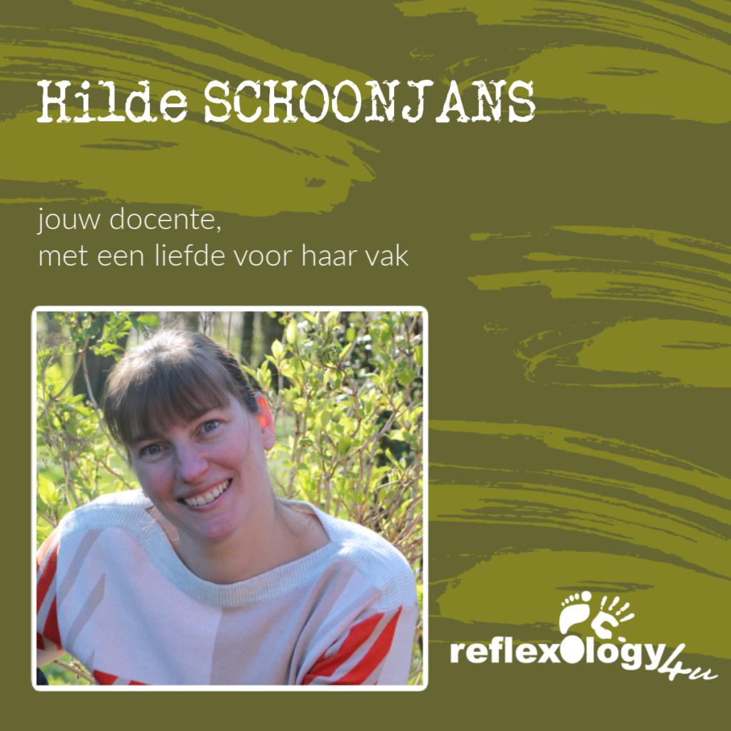 Hilde Schoonjans - jouw docente - intervisie - voetreflexologie