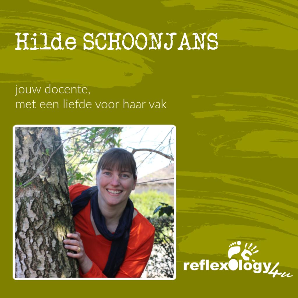 Hilde Schoonjans - jouw docente voetreflexologie