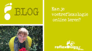 Kan je voetreflexologie online leren